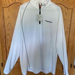 NWT Men's 1/4 Zip-Up Warm-Up Pullover Puma Jacket